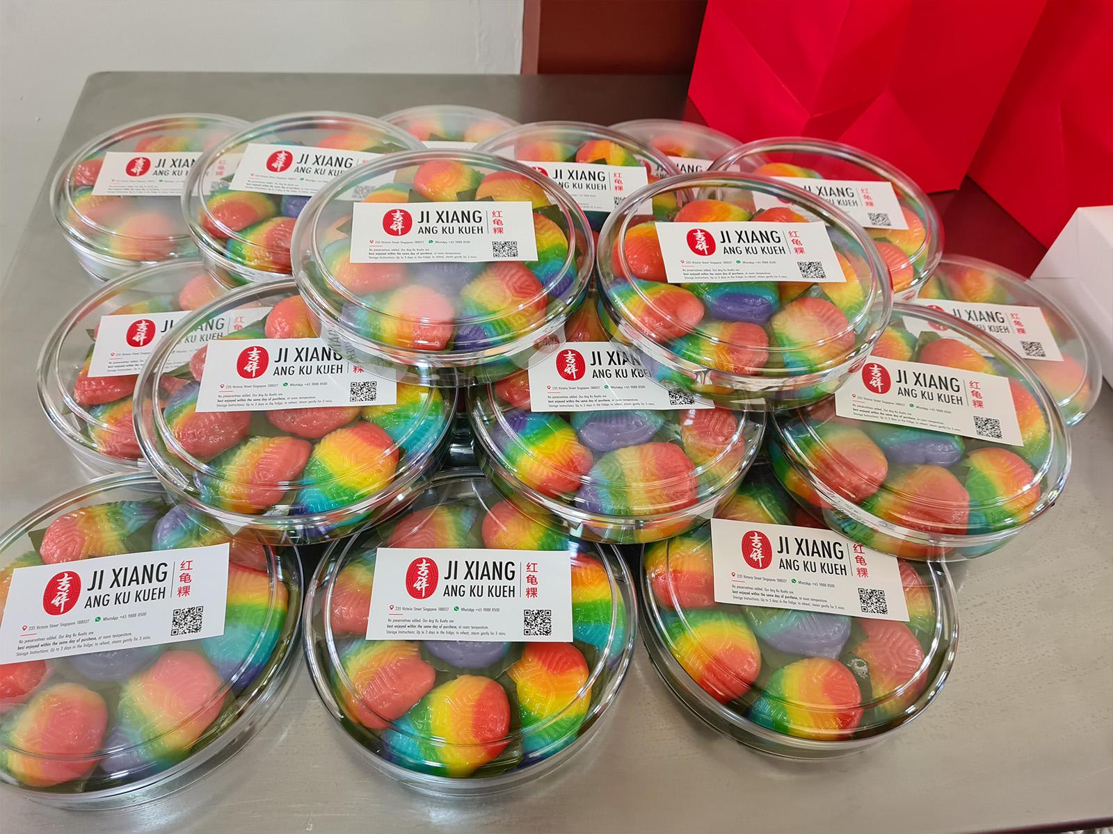 corporate gifts rainbow ang ku kueh